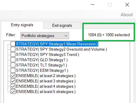 Ensemble Strategies   Method   Build Alpha